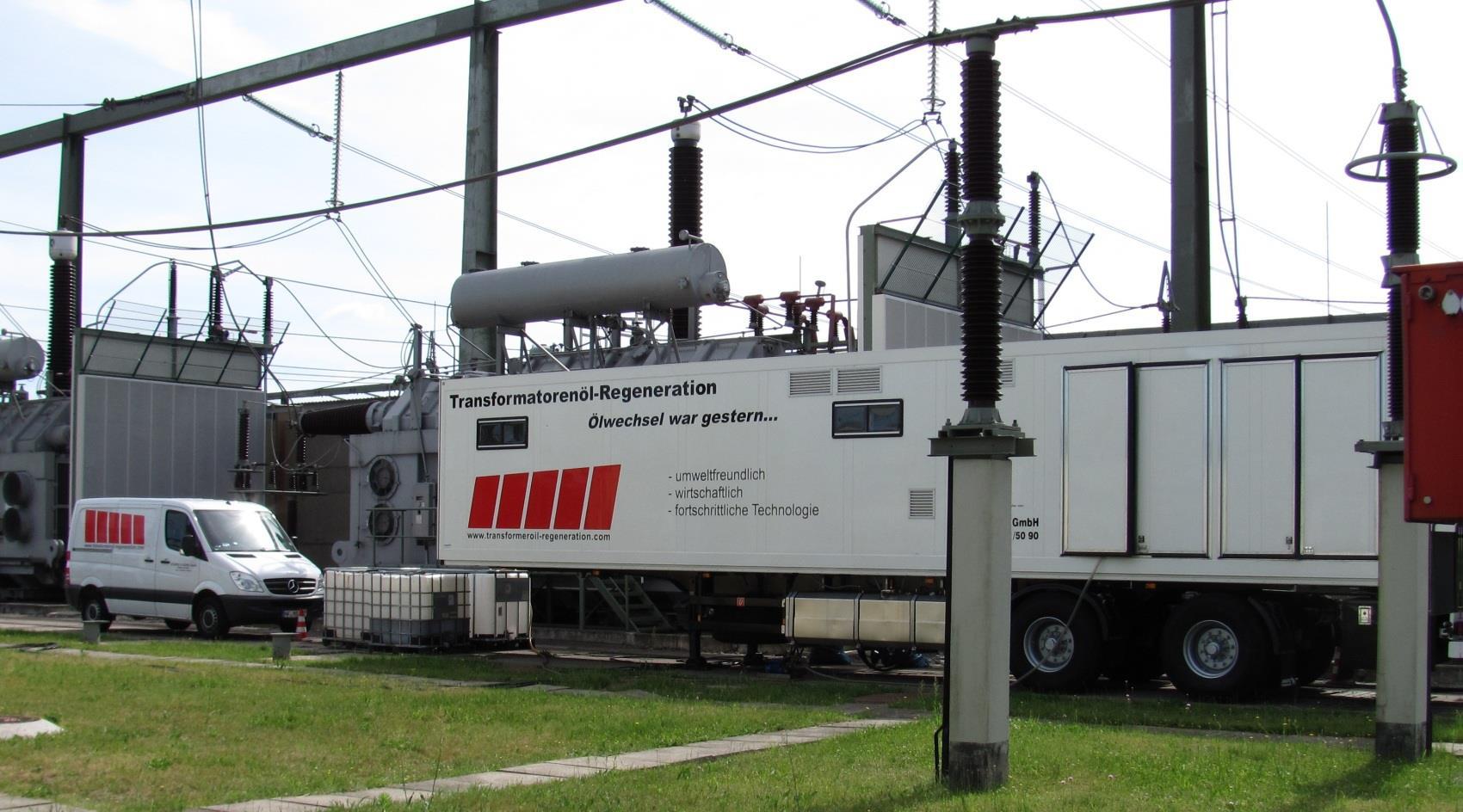 Regenerarea uleiului de transformator cu instalatii mobile (Tehnologie MRA)
